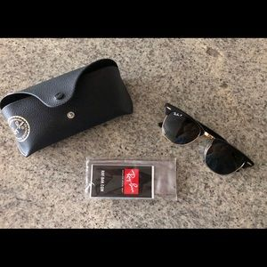 Ray Ban Clubmaster! (Polarized)